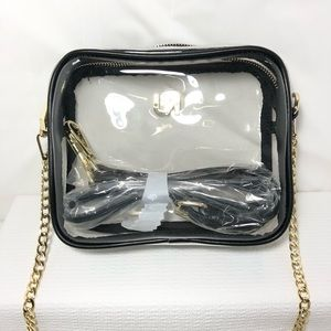 UNBRANDED Bags - Clear Purse Transparent Crossbody Bag Clutch